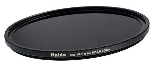 PROFOX- HAIDA - Filtro neutro Slim PRO II MC ND1000 a strati multipli da 72 mm Struttura sottile + copriobiettivo Cap con chiusura a pressione