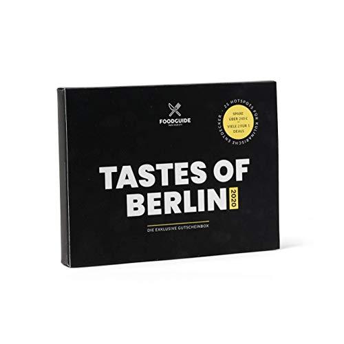 FOODGUIDE Tastes of Berlin 2020 | Das Exklusive Gutscheinmagazin