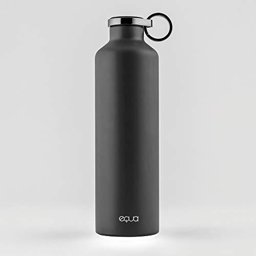 EQUA Smart waterfles 680g Bluetooth watertoevoer-tracking met licht herinneringen dubbelwandig roestvrij staal