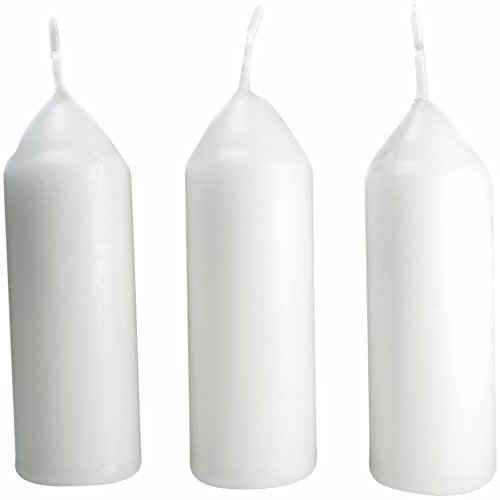 UCO Unisex's Original Regular Candle (Pack of 3) -White, One Size