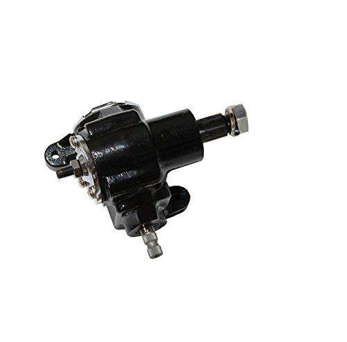 DEMOTOR PERFORMANCE Universal GM Saginaw Vega Manual Power Steering Gearbox Hot Rat Rod (Black)