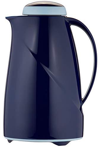 Helios Wave Isolierkanne, Kunststoff, dunkelblau, 1,5 Liter