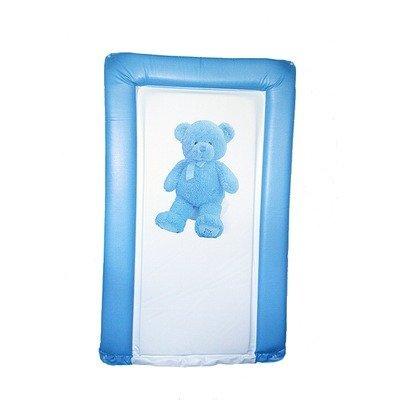 My First Teddy Matelas à langer en bleu clair