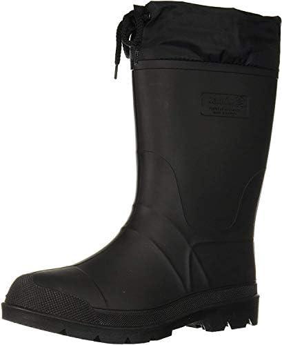 Kamik Men s Hunter Snow Boot Black Black Sole 12 product image
