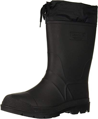Kamik Men's Hunter Snow Boot, Black/Black Sole, 8