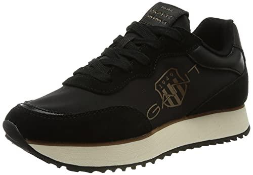GANT Bevinda Sneaker, Zapatillas Mujer, Negro, 40 EU