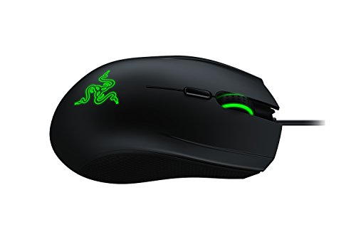 Razer Abyssus V2 - Beidhändige Ergonomische Gaming Maus (5.000 dpi mit 4 programmbierbaren Tasten und Hintergrundbeleuchtung)