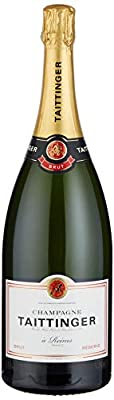 Champagne Taittinger Brut Reserve Non Vintage Magnum with Gift Box, 150cl