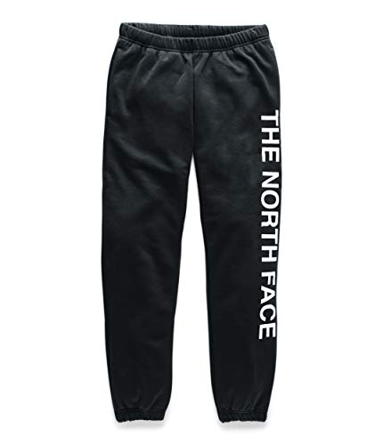 The North Face Unisex Vert Sweatpants, TNF Black/TNF White, Small