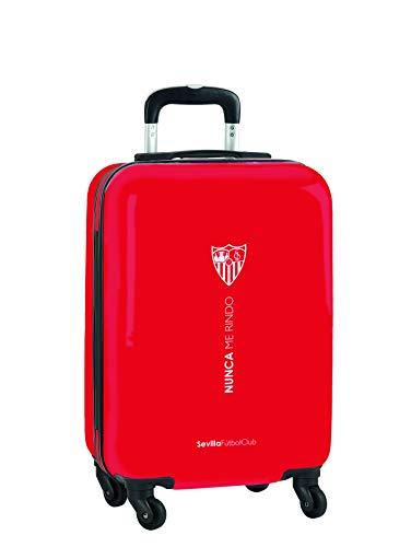 Trolley Cabina 20'' Maleta Safta con Ruedas y Candado de Seguridad de Sevilla FC Corporativa, 345x200x550mm