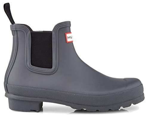 Hunter - Botas Chelsea para mujer, color gris, color Gris, talla 41 EU