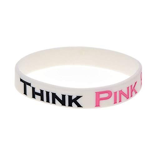 pink ribbon armband etos