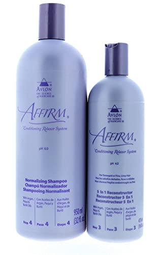 Avlon Affirm Normalizing Shampoo 32 oz & Avlon Affirm 5 in 1...