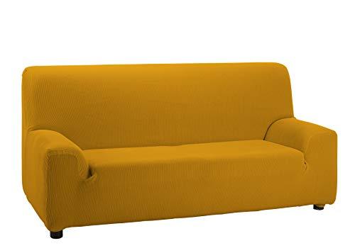 Cardenal Textil Valencia Funda de sofá, Mostaza, 3 Plazas