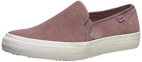Keds Women's Double Decker Slip On Sneaker, Mauve, 9 M US