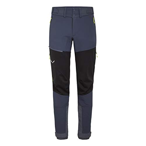 SALEWA Ortles 2 WS/DST M Reg Pantalones, Hombre, Ombre blue/0910/2090, L