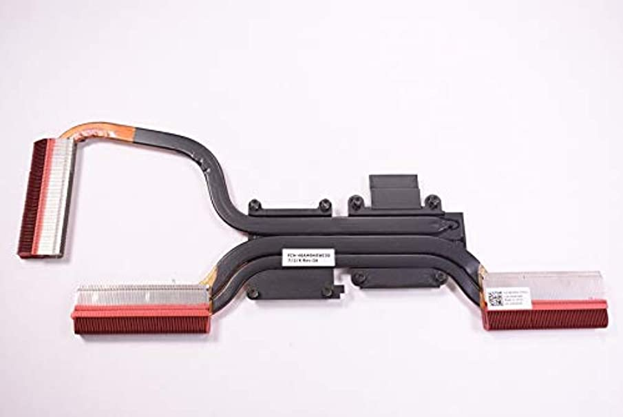 FMS Compatible with x3h09 Replacement for Dell CPU Heatsink I5577-5328BLK-PUS Inspiron 15 5577