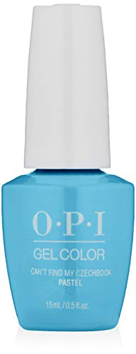 OPI Gel Color, Can't Find My Czechbook