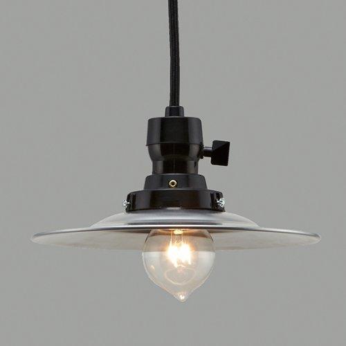 後藤照明/レトロペンダント【GLF-3477-43X(ランプ別売)/アルミP1ロマン CP型44cm】(GLF-3230-44X)