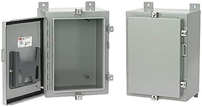 Gray Hoffman CFM16126 Flush-Mount NEMA 4//12 Enclosure Steel 16.00 x 12.00 x 6.00
