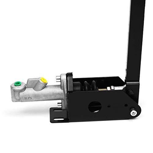 Suncolor8 Kompatibel 25-Zoll-recollektive aufrechte hydraulische Handbremse Drift Hydro Bremse Rennhebel Getriebeschloss Aussicht