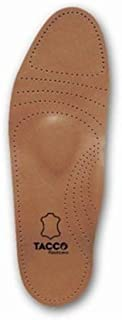Tacco Women's Full Length Deluxe Leather Orthotic Insole
