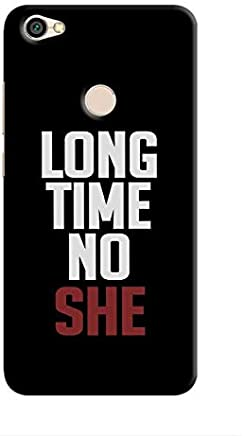 Cover It Up - Long Time No She Redmi Note 5A Hard Case