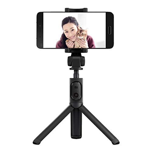 Xiaomi Selfie Stick Treppiede, FBA4070US, Bluetooth 3.0, Nero