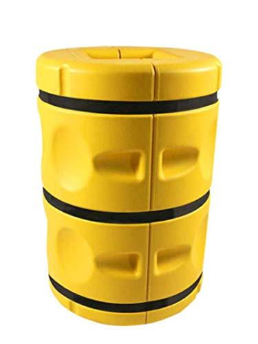 2 Stück Säulenschutz Pfostenschutz Schutz für Säulen bis 25x25cm Rammschutz Kunststoff
