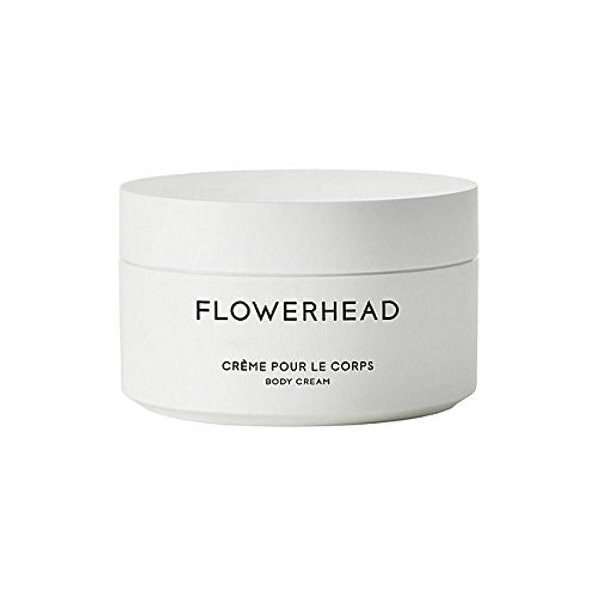 見捨てる正確意志ボディクリーム200ミリリットル x4 - Byredo Flowerhead Body Cream 200ml (Pack of 4) [並行輸入品]