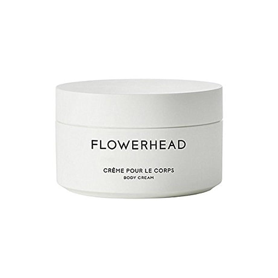 アレルギー性長老するだろうボディクリーム200ミリリットル x4 - Byredo Flowerhead Body Cream 200ml (Pack of 4) [並行輸入品]