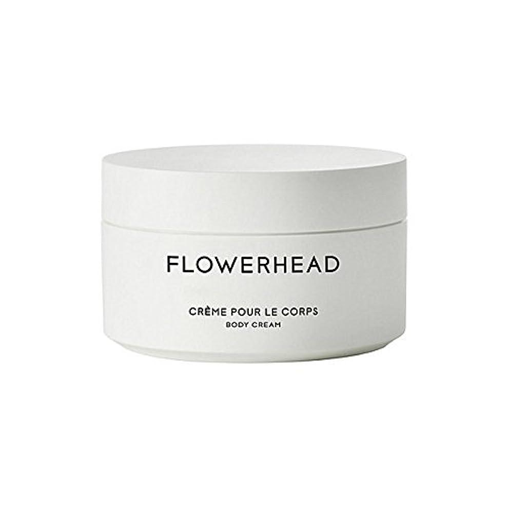 鉄道駅解決する意図的ボディクリーム200ミリリットル x4 - Byredo Flowerhead Body Cream 200ml (Pack of 4) [並行輸入品]