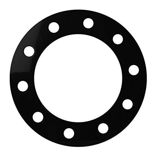 GG Grand General 80511 Kunststoff-Felgenschutz für 10 Löcher mit 32 mm Durchmesser. Dicke: