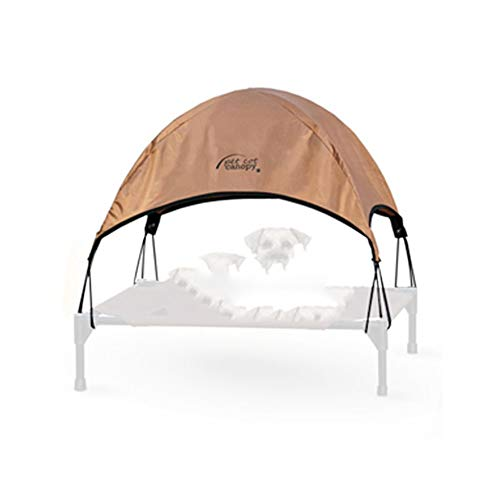ZUOZUOZUO hond Pad kooi grote hond zomer Cool Law vechten Golden Kennel Camp Bed, 43x56cm, Camp bed + tent]