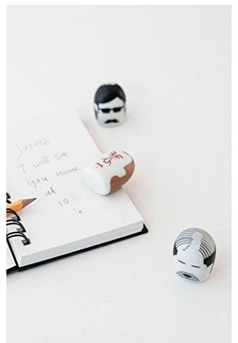 Kikkerland Erasers, Mustache, Set of 2 (ER15P) Photo #2