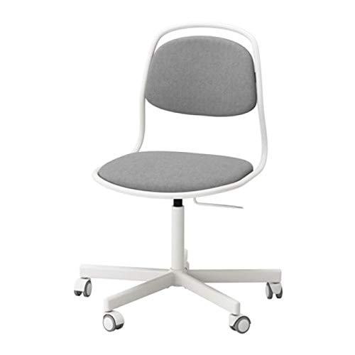 Ikea Orfjall/Sporren 591.624.44 - Silla giratoria, Color Blanco