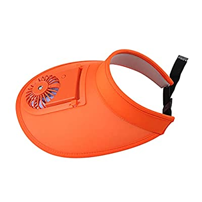 Amazon - Save 80%: Empty Top USB Charging Fan Sunshade Hat For Kid's Or Adult's Summer Travel…