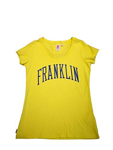 FRANKLIN MARSHALL -Camiseta TSWVA623S14 -Camiseta Manga Corta Mujer