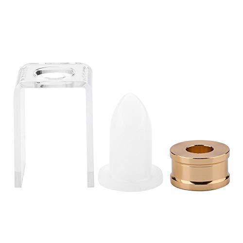 Lippenstift hausgemachte Form - 12,1 mm DIY Lippenstiftform hausgemachte Silikon Lippenbalsam Form...