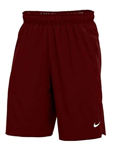Nike Flex Woven Short 2.0, Dark Maroon/White, X-Large