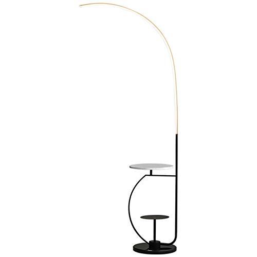 Lámparas de pie para salón Lámpara de mesa, lámpara de escritorio regulable de 3 colores modernos con diseño de iluminación minimalista y controlador táctil, Lámparas de pie para salón Iluminación bri