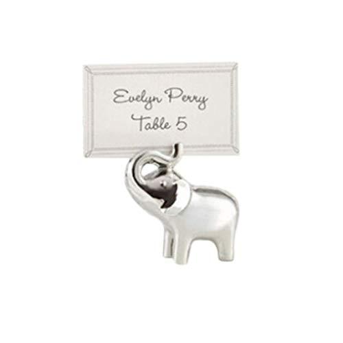 Elefant Sitz Clip Kreative Hochzeit Tisch Kartenhalter Gast Kartenhalter Foto Clip Nützlich und Praktisch