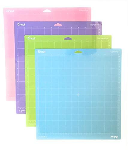 Cricut Cutting Mat Variety 4 Pack, 12 in. x 12 in