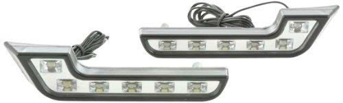 Tagfahrlicht LED ohne Schaltrelais universal Set chrom