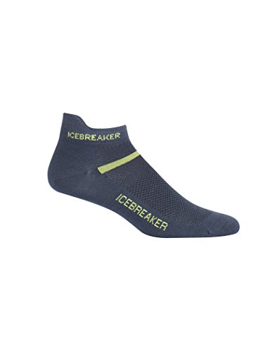 Icebreaker Multisport Ultra Light Cushion Micro Chaussettes courtes pour homme, Homme, 101485, huile., xl
