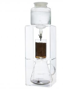 NISPIRA Ice Cold Brew Dripper Coffee Maker Acrylic Frame