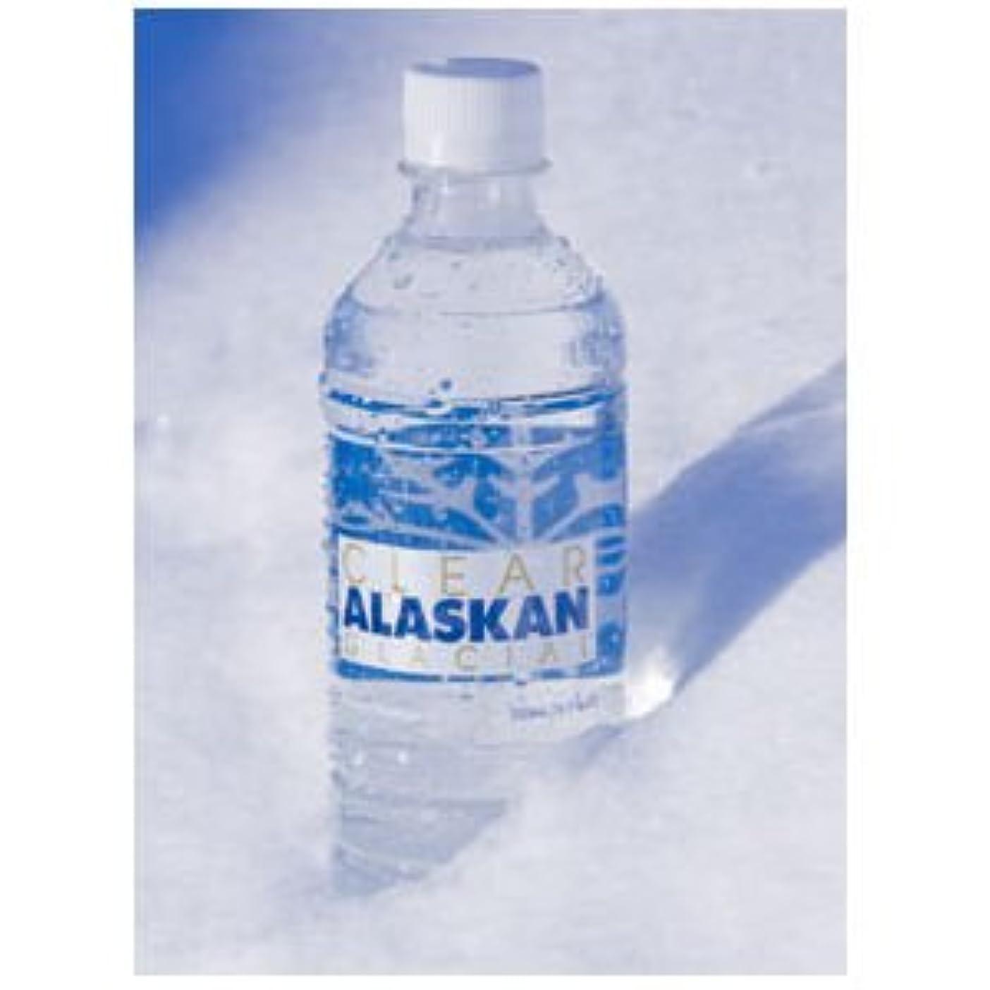 労苦危険にさらされている戦術【X5個セット】 アラスカ 氷河の水 クリアアラスカングレイシャル 500ml