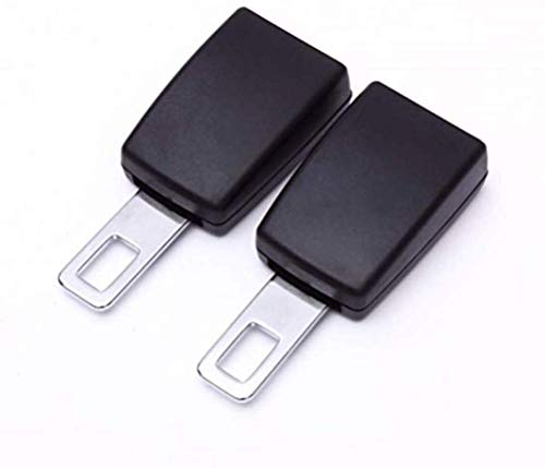 """Vimbo Universal Auto Schnallen - 2 Stück (7/8\"""" Metallzunge) Hochwertige Materialien Autosteckdose Schnallen Alarm Stopper für Auto, Auto-Extender Ablagen"""