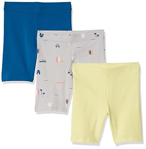 Amazon Essentials 3-Pack Cart-Wheel Short Pantalones Cortos Casuales, Paquete de 3 Vacaciones, 2 años, Pack de 3