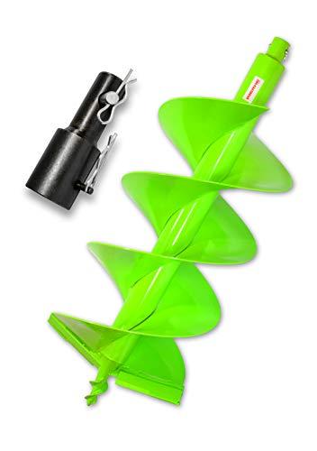 WERHE Foret professionnel pour Auger 300 mm double arbre pile bien robuste pour STIHL BT 106 C, BT 120 C, BT 121, BT 130, BT 131